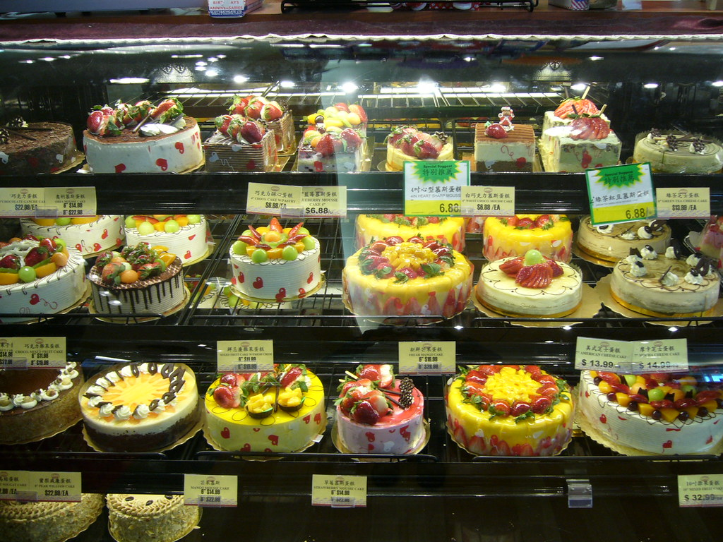 Osaka Bakery In T Amp T Supermarket Check Out Those Cakes