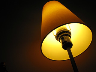 yellow lamp | by qmnonic