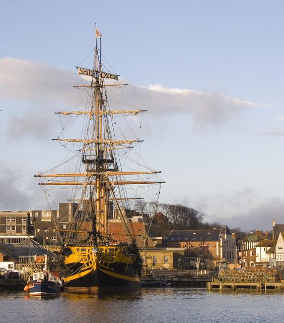 Capt Cook's Ship