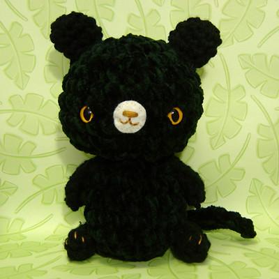 Amigurumi Black Bear, Crochet Bear, Stuffed Bear, Crochet Animal ... | 400x400