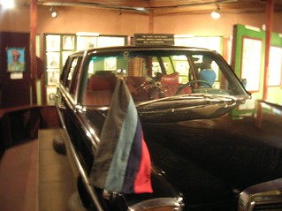 The car where the 4th head of state of Nigeria, Murtala Mohammed, was assassinated