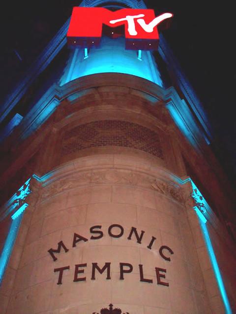 MTV Canada/Masonic Temple Facade