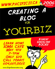 Creating A Blog For Your Biz | by Robert Sanzalone