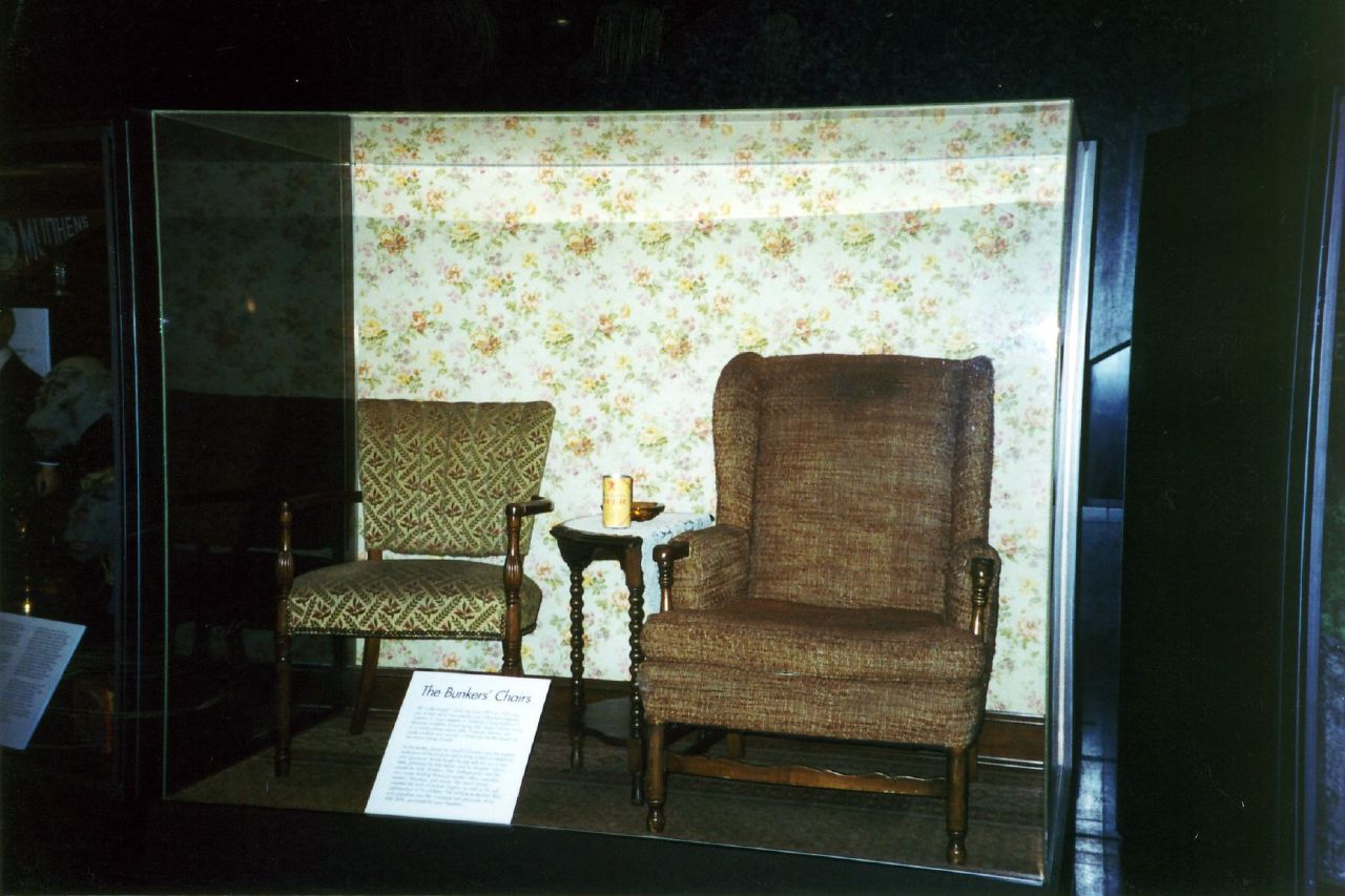 Washington DC - National Museum of American History: The Bunkers' Chairs