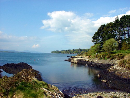 ireland landscape bay harbor scenic bantry
