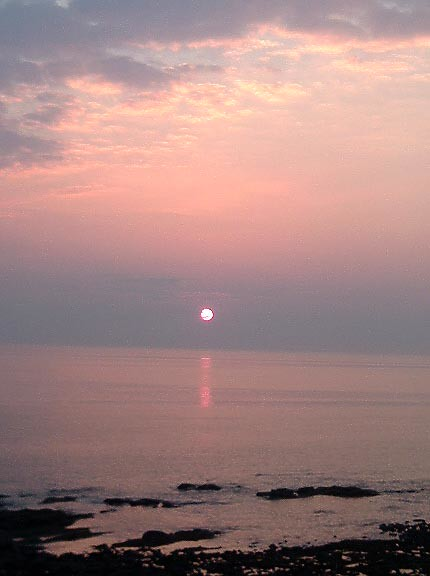 Solway sunset too