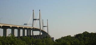 Talmadge Bridge - Savannah, GA | by hyku