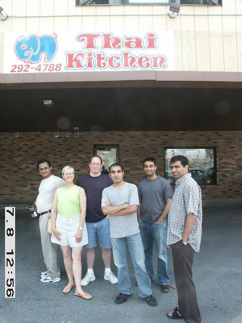 Thai Kitchen Ames Iowa 7 8 2005 Pict0015 In Front Of Thai