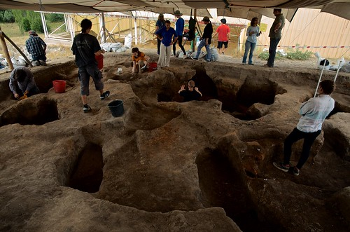 Excavation in TP Connection | by Çatalhöyük