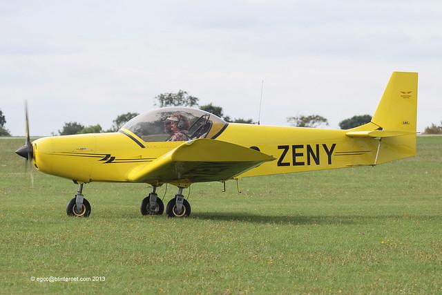 G-ZENY - 2012 build Zenith Zenair CH601HD Zodiac, at the 2013 LAA Rally at Sywell