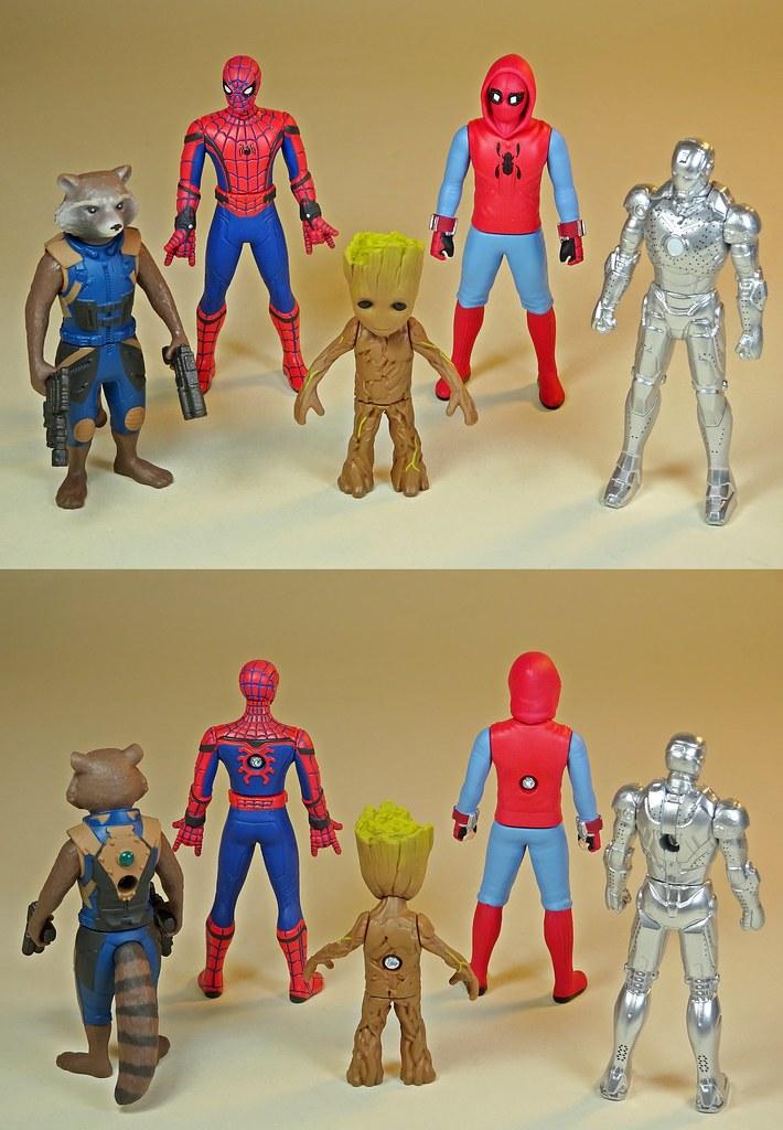 TAKARA TOMY Metacolle Metal Figure Collection Marvel Captain America