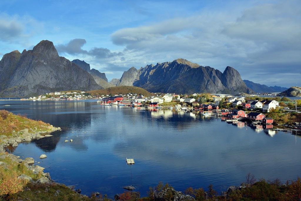 Reine Norway Lofoten Eric Bauer Flickr