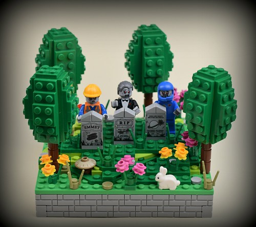 Graveyard   by MinifigNick