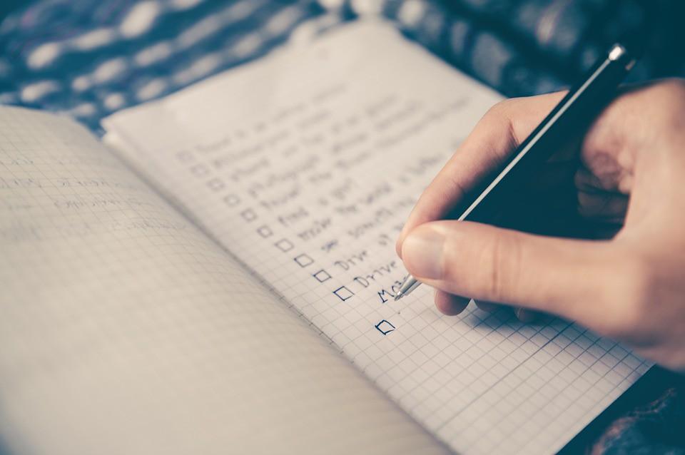 Checklist Man People Box Hand Goals Pen Notebook | Checklist… | Flickr