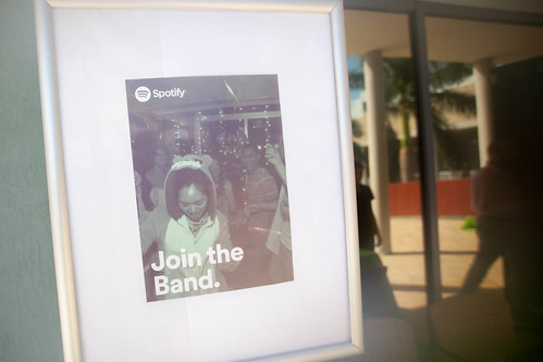 Spotify mixes music and careers with FIU College of Business