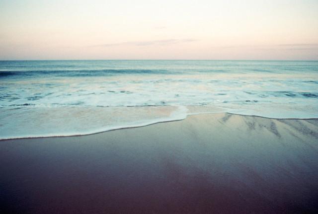 An Ocean Memory of Pastel Nostalgia