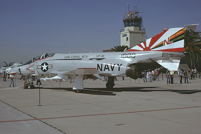 F-4N Phantom 151000 of VF-111 NL-200