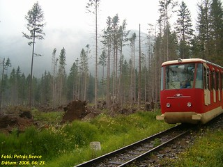 Ótátrafüredi Siklóvasút régi 1. pályaszámú kocsija, 2006. 06. 23.