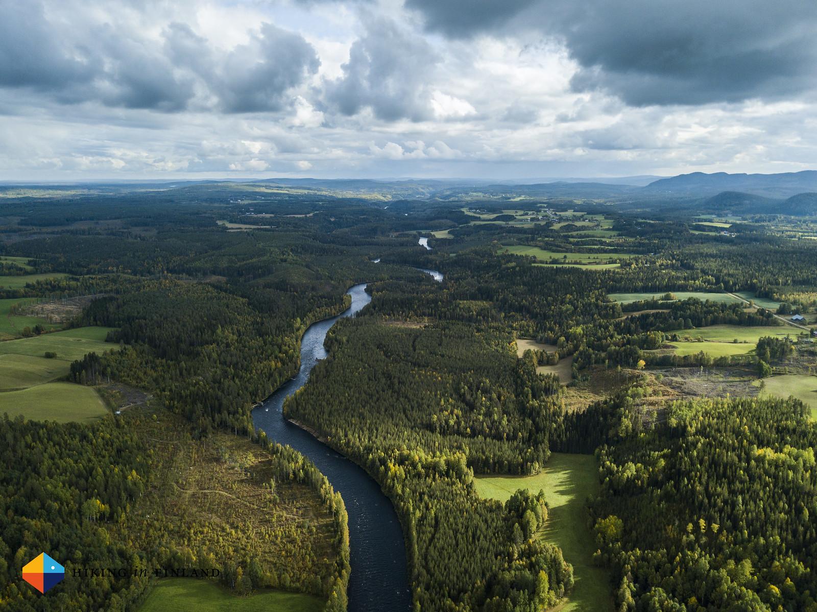 View towards Bjurholm
