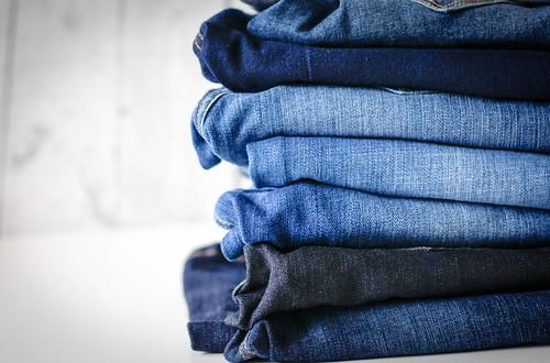 Pile of Jeans | by wuestenigel