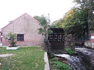 Wheelhouse on River Wandle, Merton Abbey Mills SWC Walk Short 13 - Morden Hall Park and Merton Abbey Mills