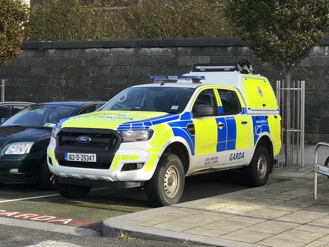 Irish Police Car - An Garda Síochána - Ford SUV -  Limerick City