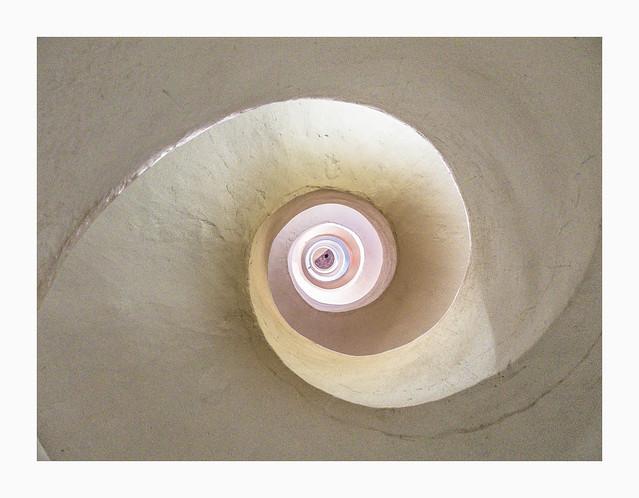 Spiral look upwards