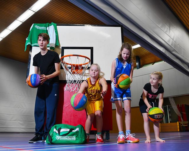 Fotoshoot G-Basketbal