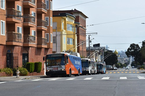 MUNI 5551 - Geary and 33rd - San Francisco - September 11, 2017 (1)