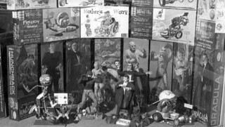 Model kits of monsters in Tallahassee