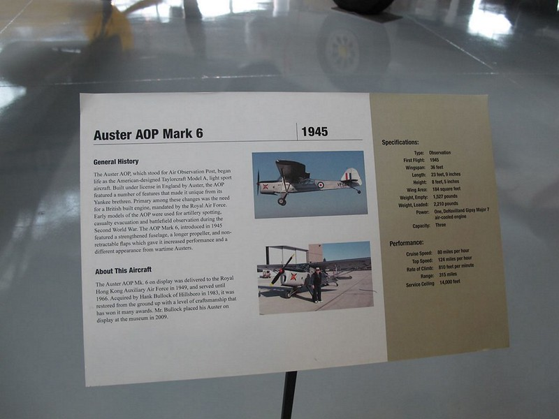 Auster AOP Mark 6 6
