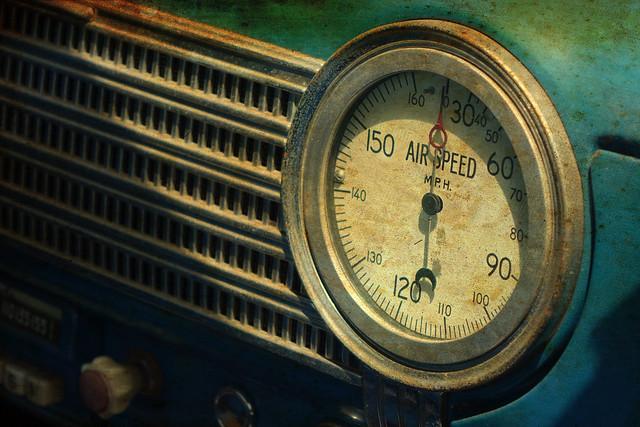 Old car gauge