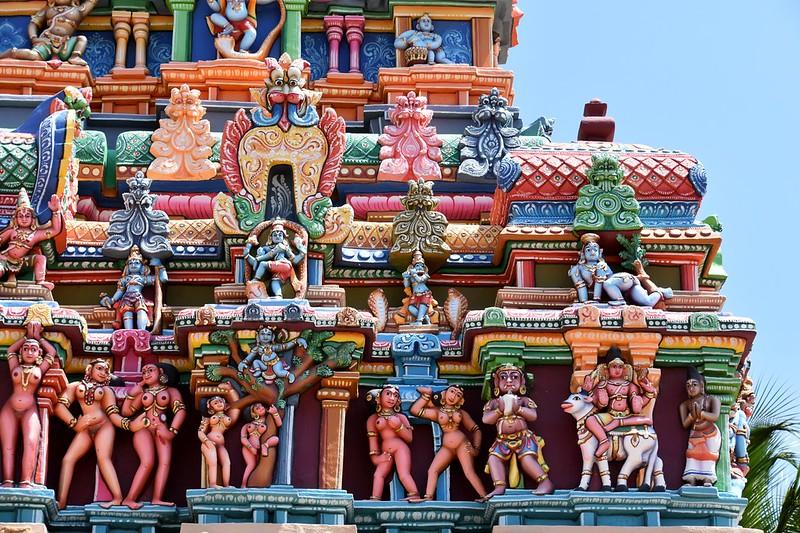 Sri Ranganathaswamy Temple, Dedicated To Vishnu, In Srirangam, Near Tiruchirappali (132)