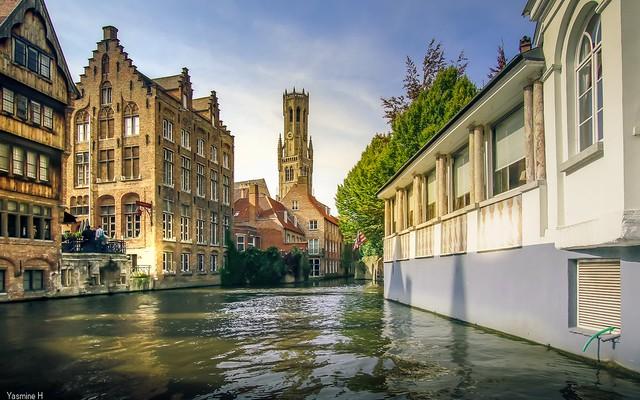 Sur le Canal à Bruges - HSS