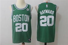 NBA Men's Boston Celtics #20 Gordon Hayward Green 2017-2018 Nike Swingman Stitched Jersey