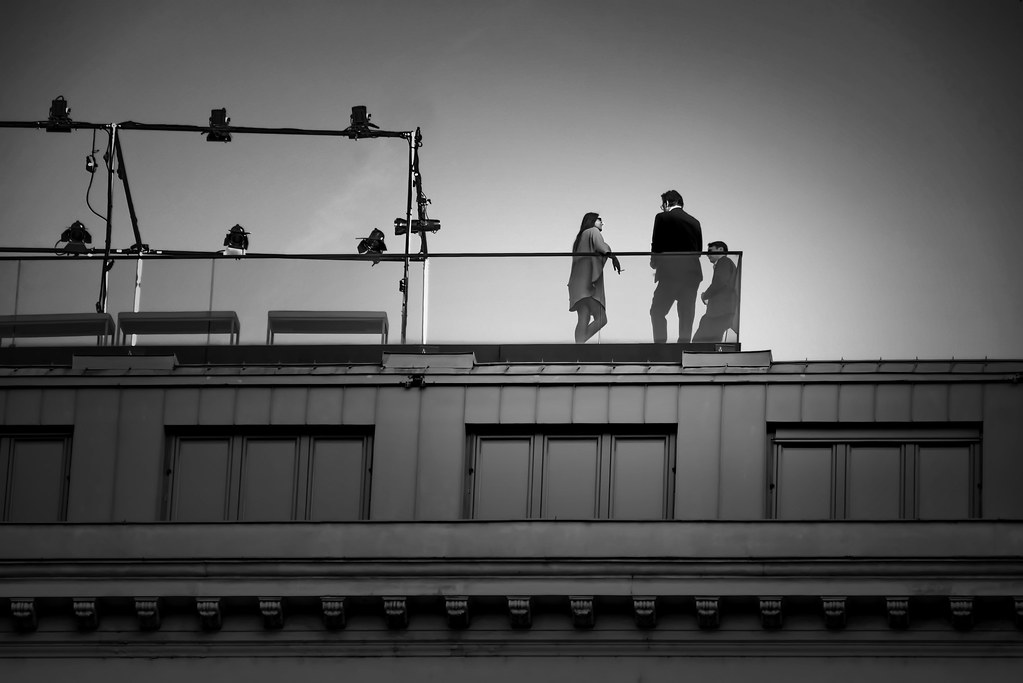 catwalk on the roof