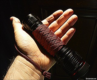 13 L 4 B TH knot paracord grip wrap | by Stormdrane