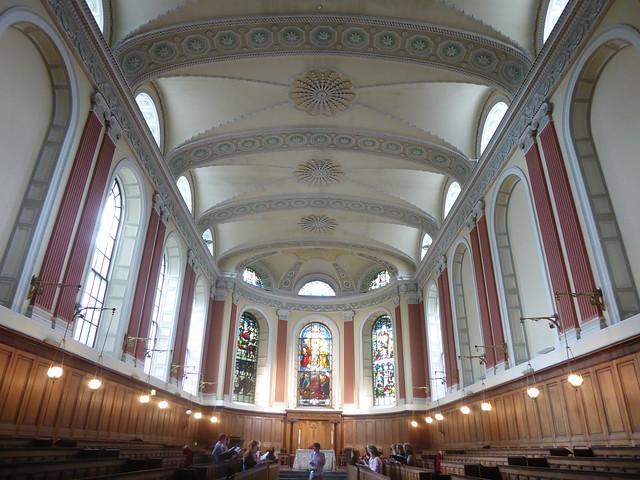Dublin, Trinity College Chapel