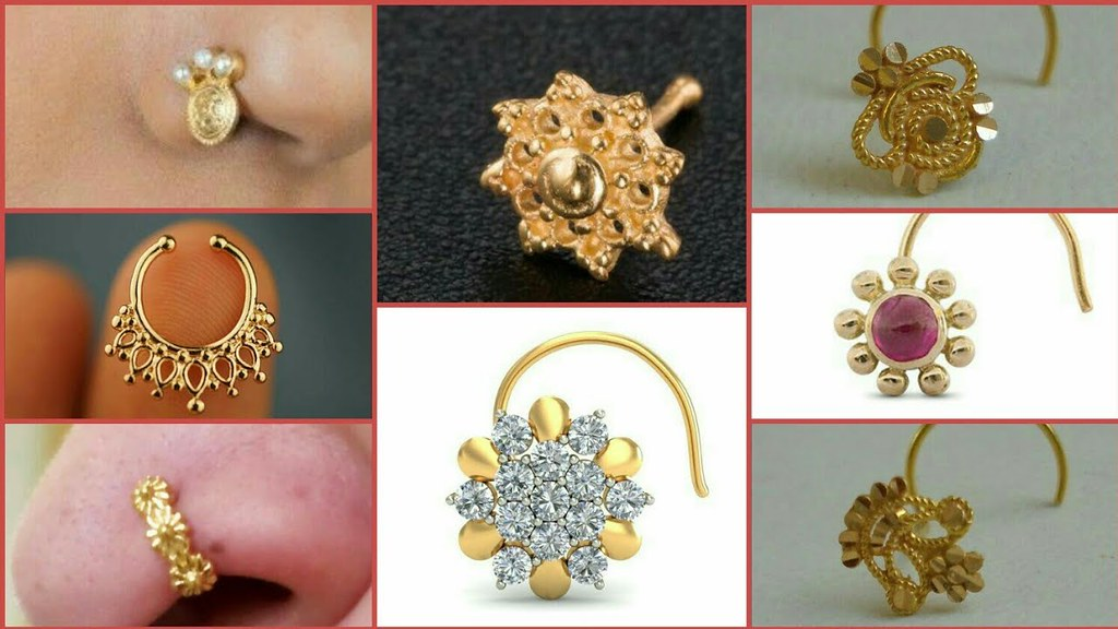 Traditional Beautiful Nose Pin Nose Stud Ring Designs Flickr