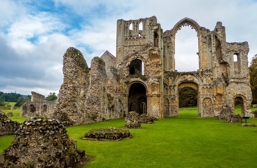 Castle Acre Priory Norfolk Castle Acre Priory Was A Cluni Flickr
