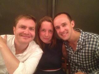 James, Rebecca & Graham, Musical centrepieces, MC 2017