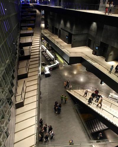 Escher-esque Harpa interior #architecture #vertigo