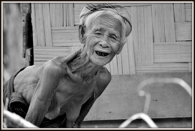 Souriante mamie de Luang Namtha (Laos)
