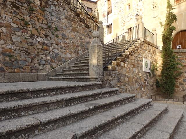 Stairway on the Plaza de San Jorge