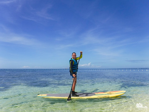Stand-Up Paddling at Bluewater Panglao Beach Resort | by Adrenaline Romance