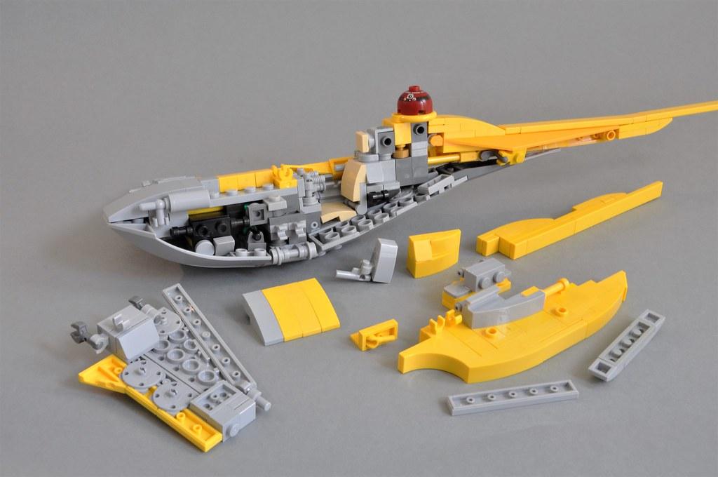 Naboo N-1 Starfighter V2 (Breakdown 1)