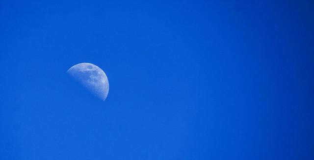 Moon over Truro