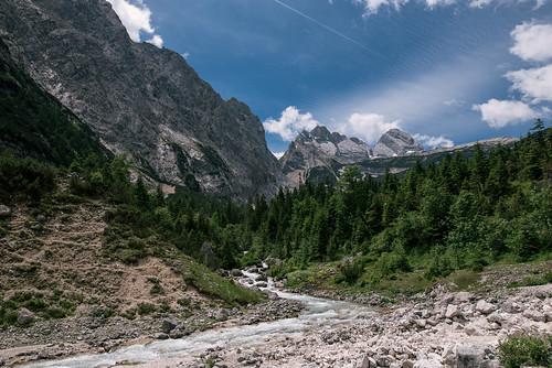 Lake through the mountains   by knipslog.de