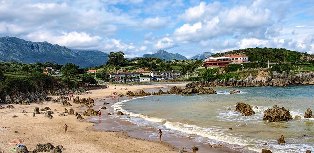 Playa de Toró. Llanes. Asturias.