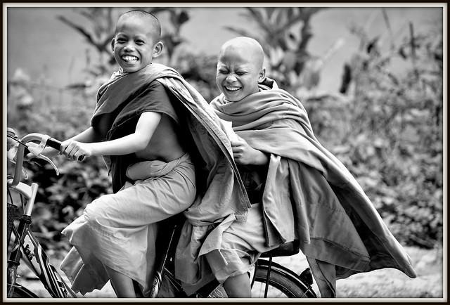 Un peut d'amusement a Muang Sing . (Laos)